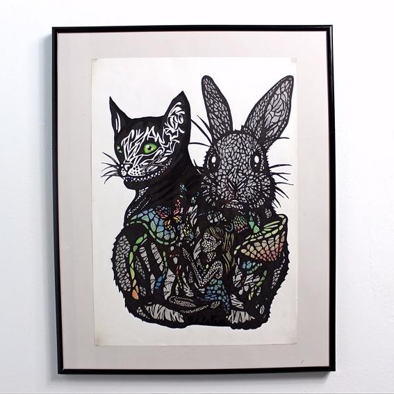 Alice Photo-Print Handsigniert