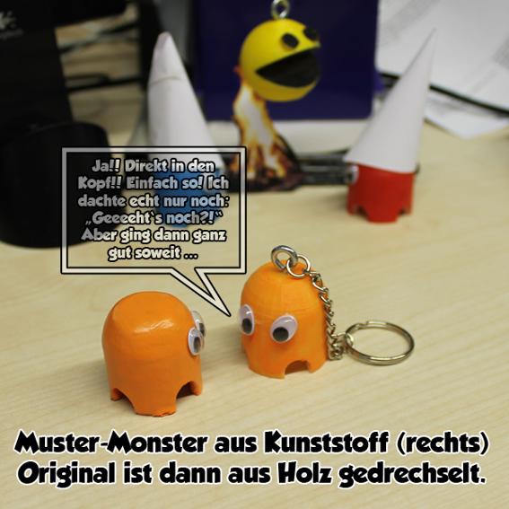 #3a: Monster-Schlüsselanhänger + Postkarte