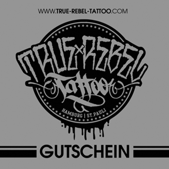 True Rebel Tattoo 1 Stunde Gutschein