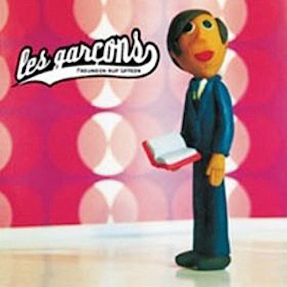 """les garcons """"Freundin auf Latein"""" rare 4-Track Single (Auf Wunsch signiert!)"""