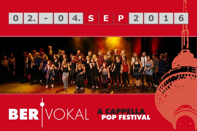 BERvokal - A Cappella Pop Festival Berlin