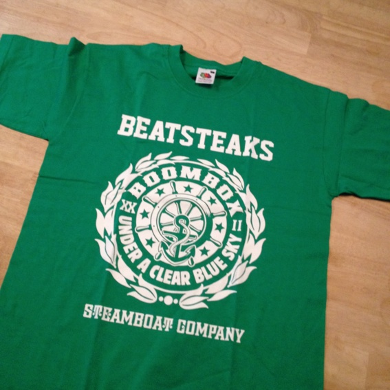 Beatsteaks Paket: Shirt+ Autogrammkarte + Updates