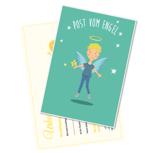 Post vom Engel mit Wachssiegel und Urkunde
