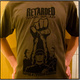 "Shirt ""народ и группа едины"" olivgrün"