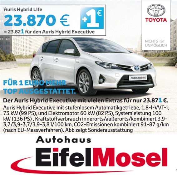 Sponsoring Autohaus Eifel Mosel