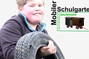 Mobiler Schulgarten - ein multifunktionaler Bauwagen
