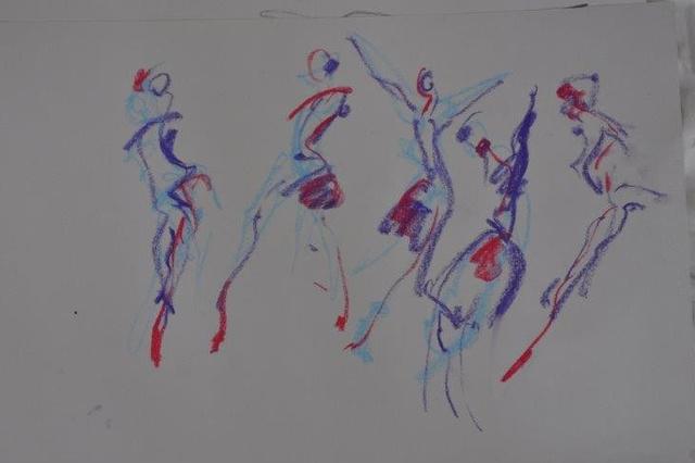 Tanz - Malerei - Fotografie -... jenseits des Augenblicks....