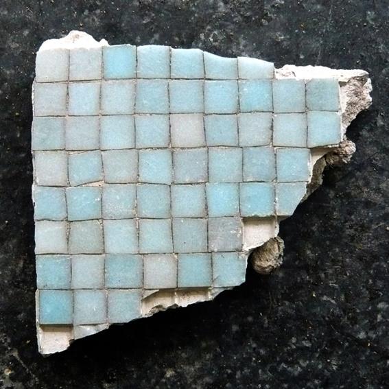 Originaler Mosaikstein
