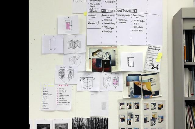 nicht jetzt! no.4 – Das studentische Magazin des Department Design der HAW