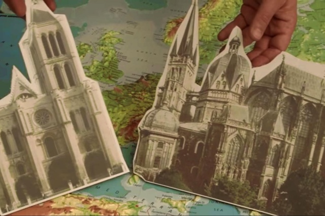 Karl der Schnelle: Aachen >>> Saint-Denis