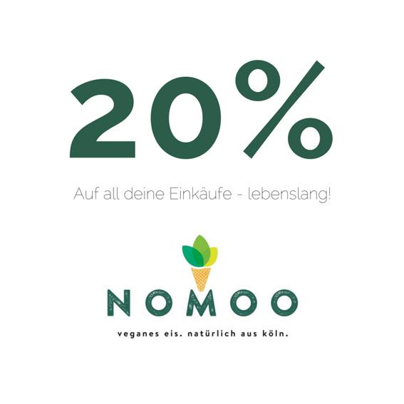 Lebenslanger 20%-Gutschein* für unseren Onlineshop