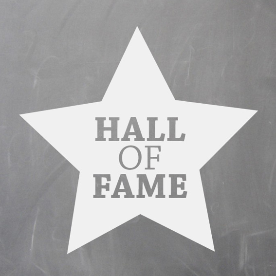 Widmung HALL OF FAME
