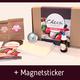Mozzarella-Paket (Early Bird) plus Magnetsticker (inkl. Versand)
