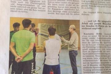 Integration durch Sport/sozialpolitische Bildung
