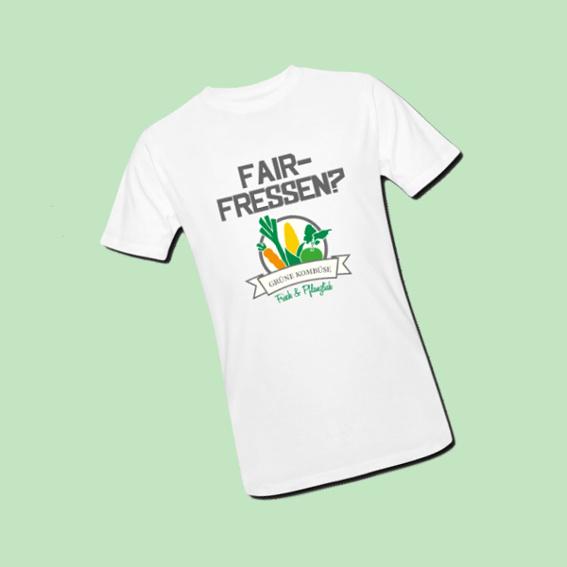 Ein exkusives Grüne-Kombüse Bio-T-Shirt für dich!