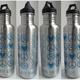 Edelstahl Flasche 800 ml mit YogiCompany Design