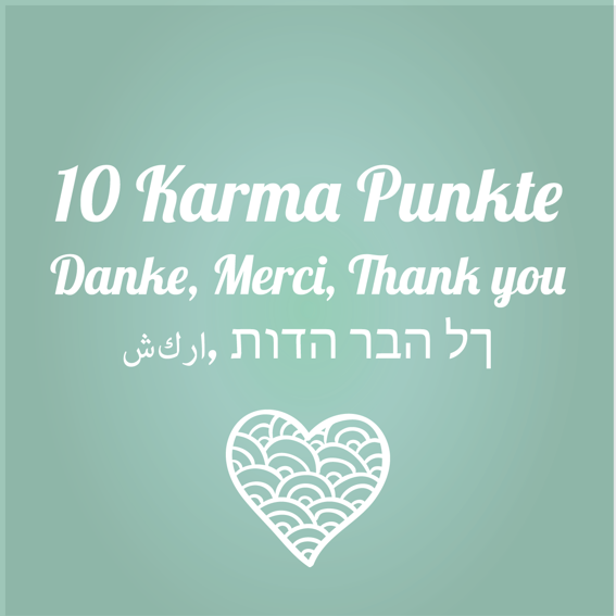 10 Karma-Punkte