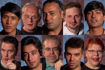 """""""Das Studio und die Flüchtlinge"""""""