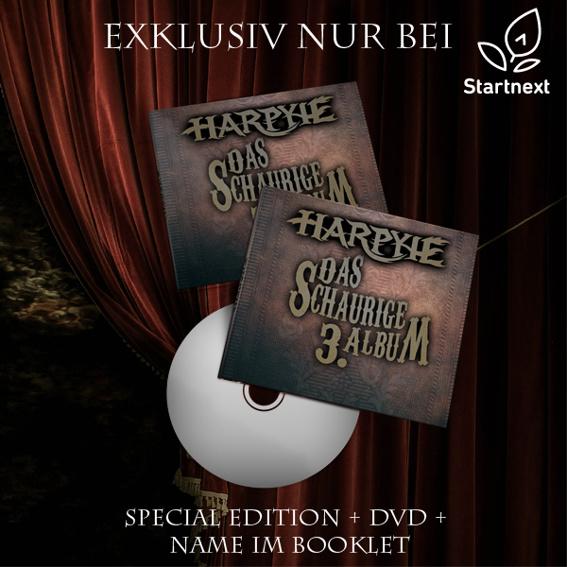 Album (Special Edition) mit DVD + Name im Booklet