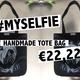 #MYSELFIE Tote Bag