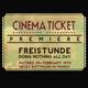 FREISTUNDE premiere ticket