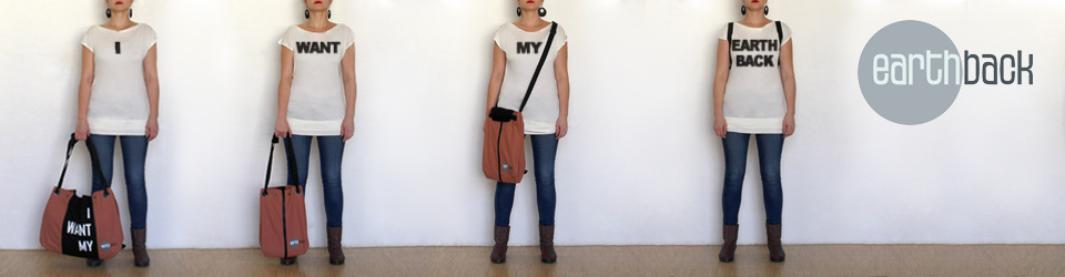 EARTHBAG - a bag with statement