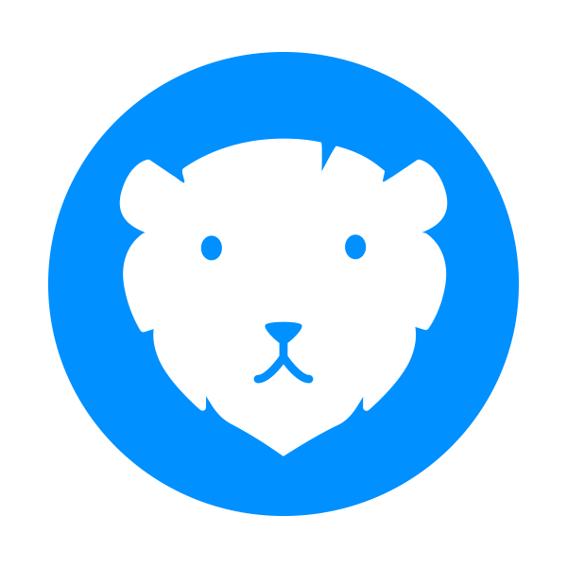 BAYDUINO Löwe Logo Aufkleber