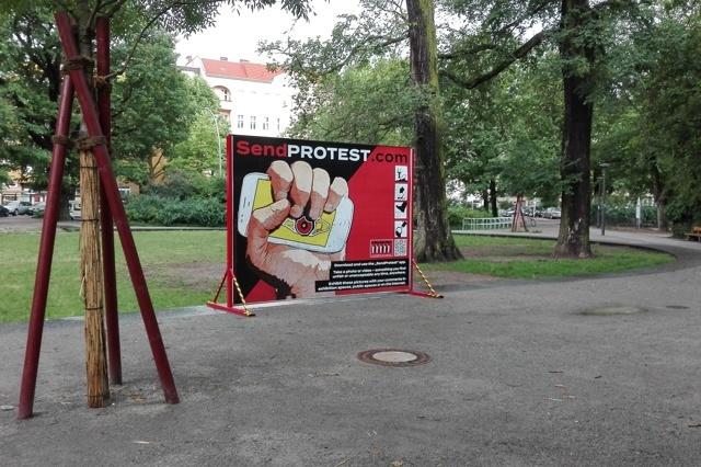 SendProtest - App für ein globales Onlinearchiv