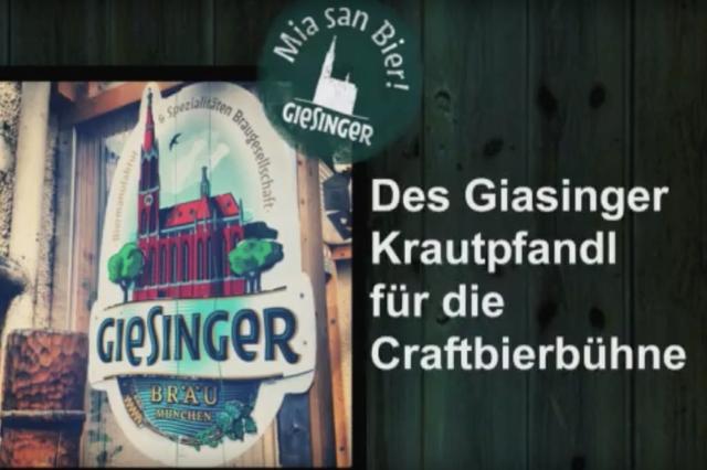 Giesinger Stehausschank + Livebühne: Endlich!