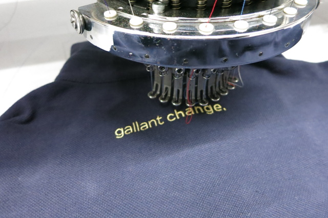 gallant change.