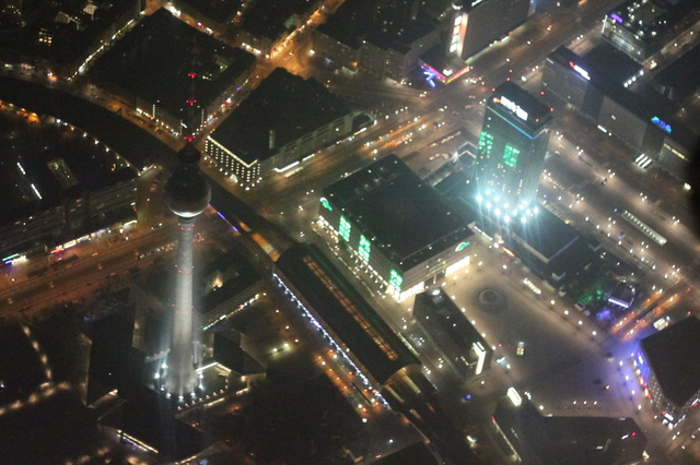 Skyglow Berlin
