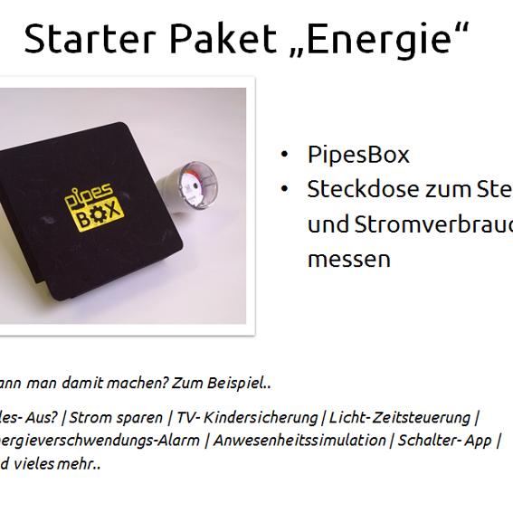 "PipesBox + Starterpaket ""Energie"""