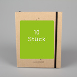 10 Stück Swiss Brochure – black/carton