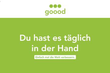 goood – durch Telefonie die Welt verändern!