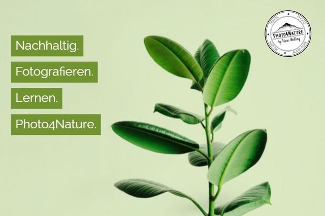 Photo4Nature - Nachhaltig fotografieren lernen!