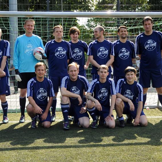 Fußballspiel gegen GHVC-Allstars