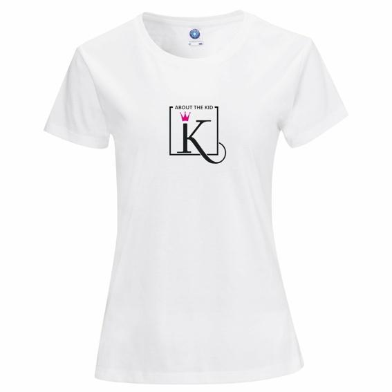 Frauen - About the kid T-Shirt 100 % Bio-Baumwolle