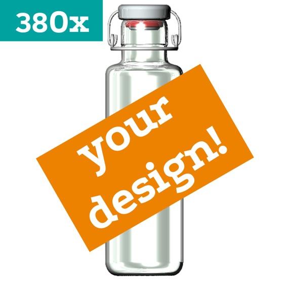 380 soulbottles mit Ihrem EIGENEN DESIGN