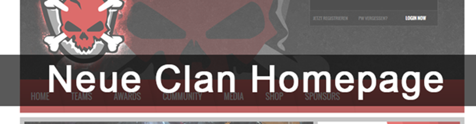 Neue Clan Homepage für Until Death