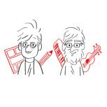 Wohnzimmer-Comiclesung mit Ferdinand Lutz und Dominik Müller + POLLE #1, signiert