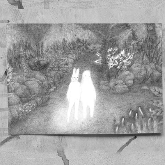 """DIN-A-3 ArtPrint """"Little Ghosts"""" - Clementine de Chabaneix"""
