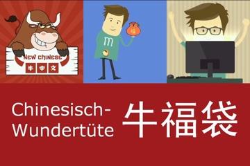 Chinesisch lernen mit der NIU ZHONGWEN Wundertüte