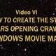 Erwähnung in den Video-Credits im Abspann