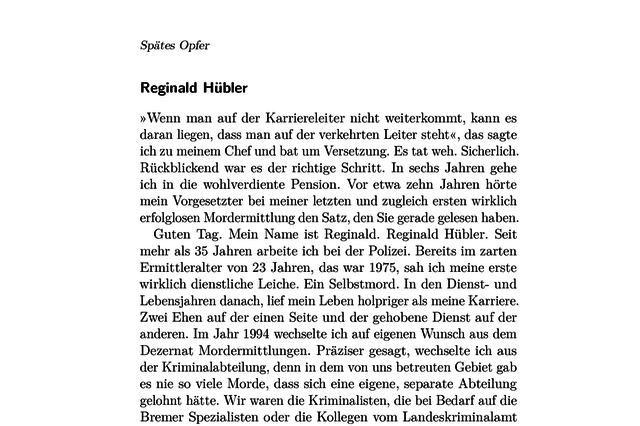 Spätes Opfer – Romankrimi von A. B. Exner
