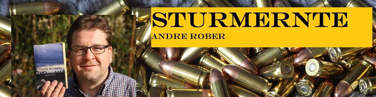 """Druck der ersten Auflage des Romans """"Sturmernte"""""""