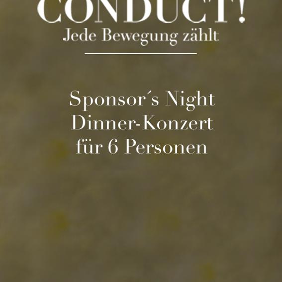 Sponsors Night / 6 Personen