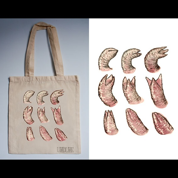 Undune Cloth Bag: 9 Worms