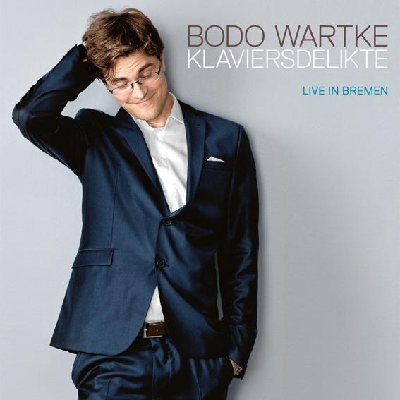 Bodo Wartke - Blu-Ray Disk - Klaviersdelikte - Live in Bremen (handsigniert)