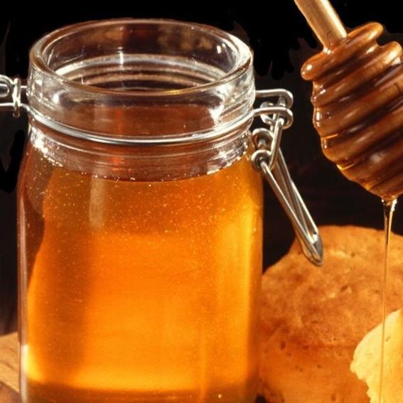 A small jar of honey, of 500 grams