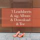 3 Leadsheets & sig. Album & Download & Tee